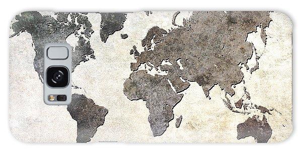 Parchment World Map Galaxy Case by Douglas Pittman