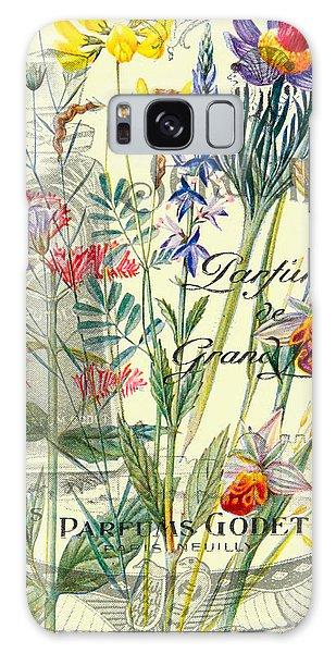 Cottage Galaxy Case - Parfum Vintage Paris by Delphimages Photo Creations