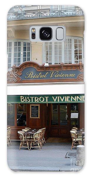 Street Cafe Galaxy Case - Paris Bistrot Vivienne Galerie Vivienne - Parisian Cafes Bistros by Kathy Fornal