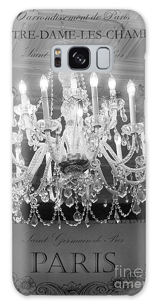 Paris Black And White Crystal Chandeliers - French Parisian Black White Crystal Chandelier Art Galaxy Case