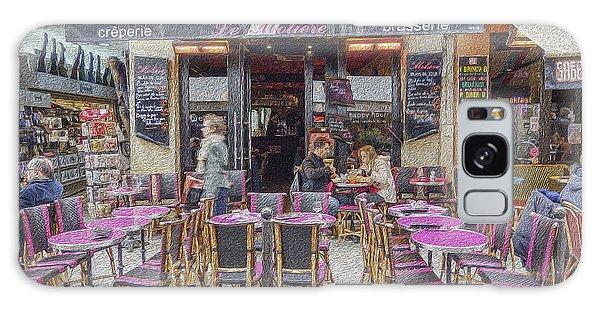 Paris Cafe 2 Galaxy Case