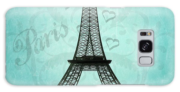 Paris Collage Galaxy Case