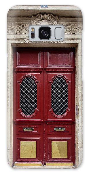 Paris Doors No. 17 - Paris, France Galaxy Case