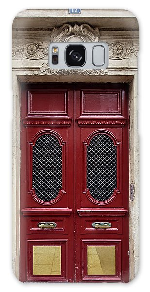 Paris Doors No. 17 - Paris, France Galaxy Case by Melanie Alexandra Price