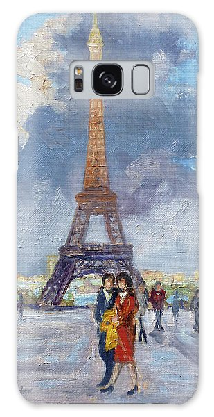 Paris Eiffel Tower Galaxy Case by Irek Szelag