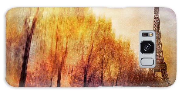Paris In Autumn Galaxy Case by Marty Garland
