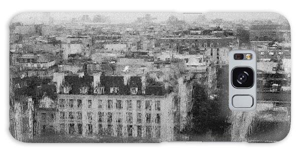 Paris In The Rain  Galaxy Case