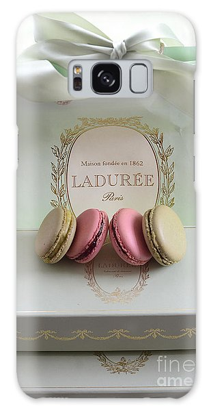 Paris Laduree Mint Box Of Macarons - Paris French Laduree Macarons  Galaxy Case