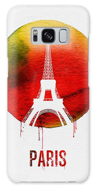 Paris Landmark Red Galaxy Case