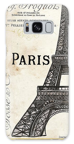 Eiffel Tower Galaxy S8 Case - Paris, Ooh La La 1 by Debbie DeWitt
