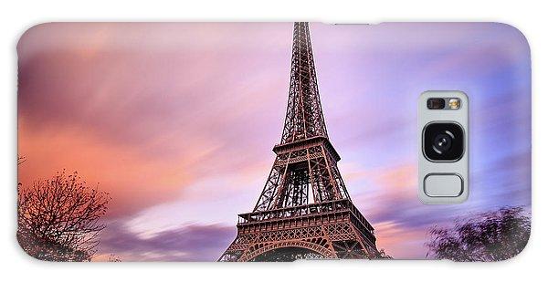Paris Pastels Galaxy Case