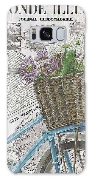 Basket Galaxy Case - Paris Ride 1 by Debbie DeWitt