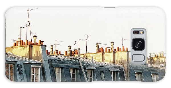 Galaxy Case featuring the photograph Paris Rooftops by Frank DiMarco