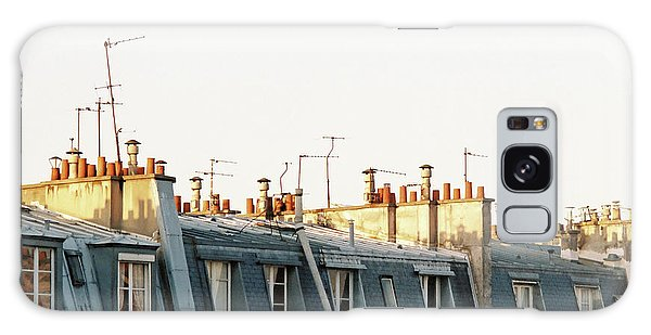 Paris Rooftops Galaxy Case