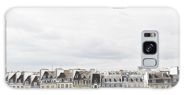 Paris Rooftops View From Centre Pompidou Galaxy Case