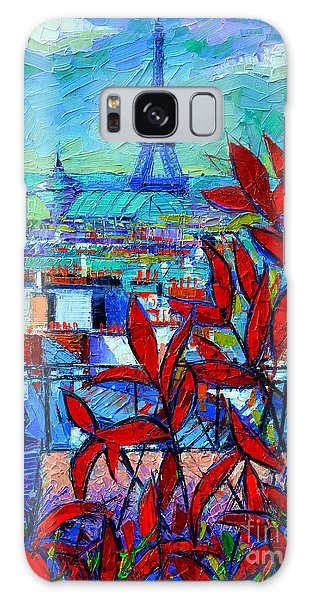 Paris Rooftops - View From Printemps Terrace   Galaxy S8 Case