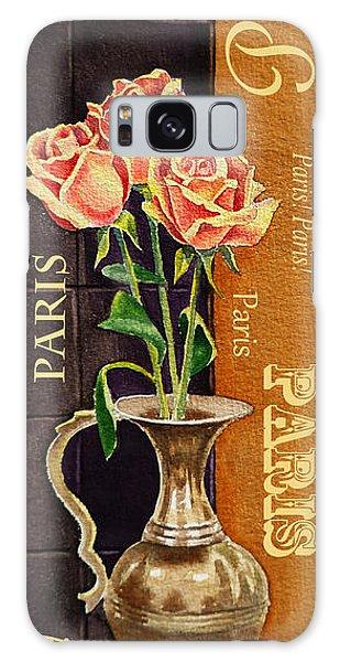 Hyper-realistic Galaxy Case - Paris Roses by Irina Sztukowski