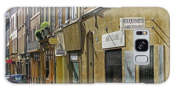 Paris Street Scene Galaxy Case