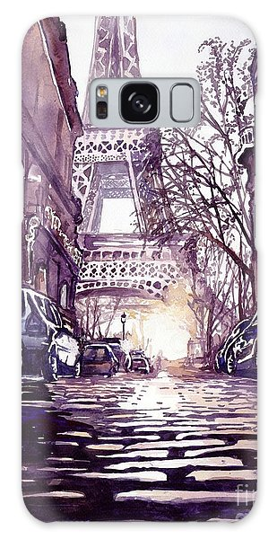Magazine Cover Galaxy Case - Paris by Suzann's Art