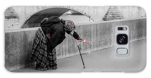 Parisian Beggar Lady Galaxy Case