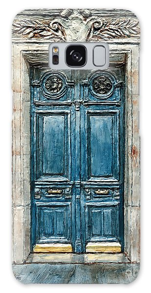 Parisian Door No. 3 Galaxy Case