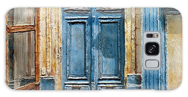 Parisian Door No.36 Galaxy Case