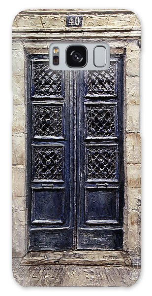 Parisian Door No.40 Galaxy Case by Joey Agbayani