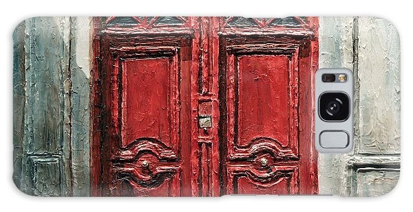 Parisian Door No.9 Galaxy Case by Joey Agbayani
