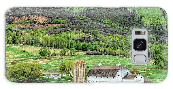 Park City Utah Barn Galaxy Case