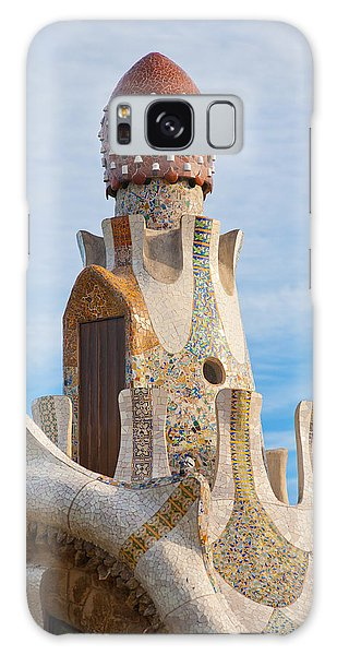 Park Guell Tower Galaxy Case