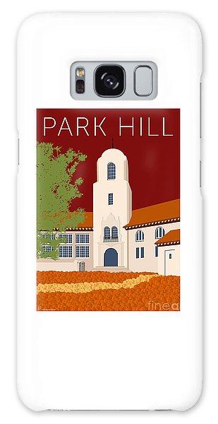 Park Hill Maroon Galaxy Case