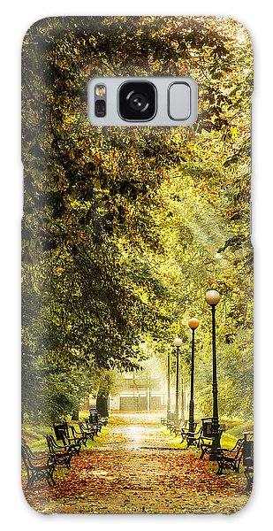 Park Lane Galaxy Case by Jaroslaw Grudzinski