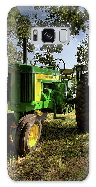 Parked John Deere 2 Galaxy Case