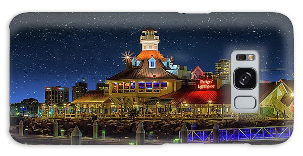 Parkers Lighthouse Galaxy Case