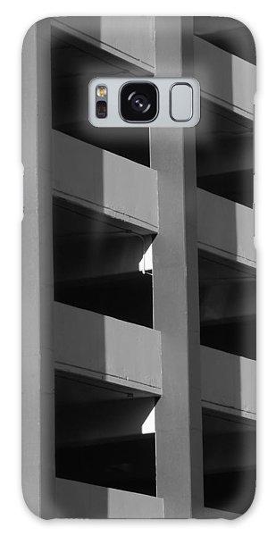 Parking Garage Milwaukee Abstract 2334 Galaxy Case
