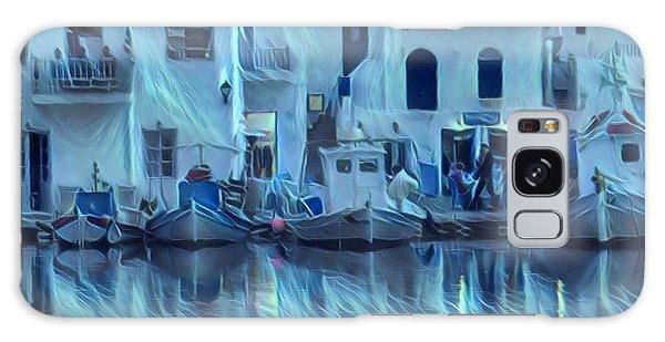 Paros Island Beauty Greece Galaxy Case