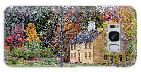 Parson Barnard House In Autumn Galaxy Case