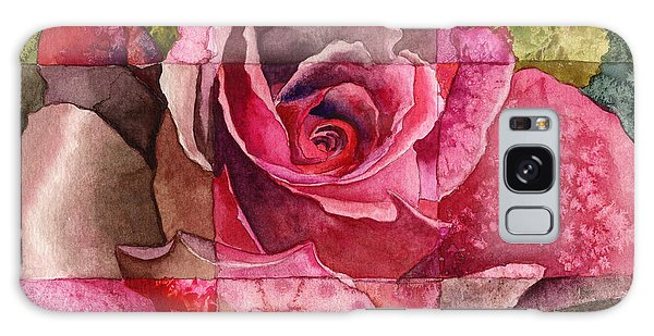 Partitioned Rose IIi Galaxy Case