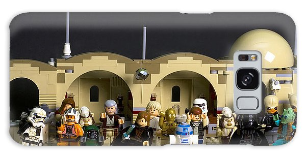 Mos Eisley Galaxy Case - Party At The Cantina by David Stasiak