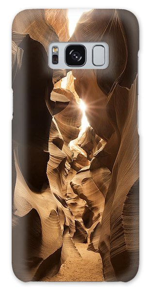 Passage At Antelope Canyon Galaxy Case
