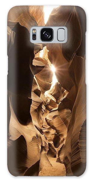 Passage At Antelope Canyon Galaxy Case