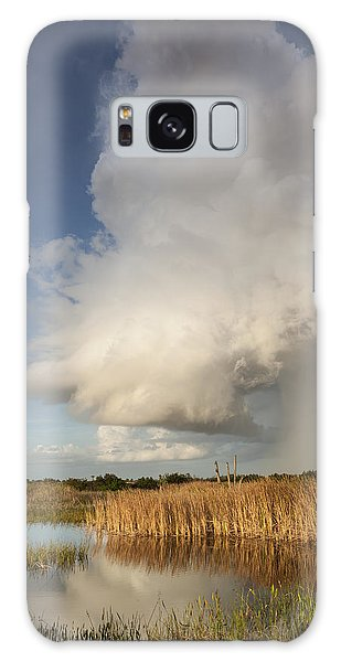 Passing Late Afternoon Rain Shower Galaxy Case
