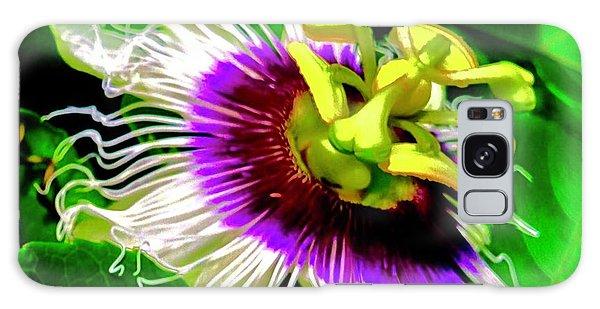 Passion Flower 3 Uplift Galaxy Case