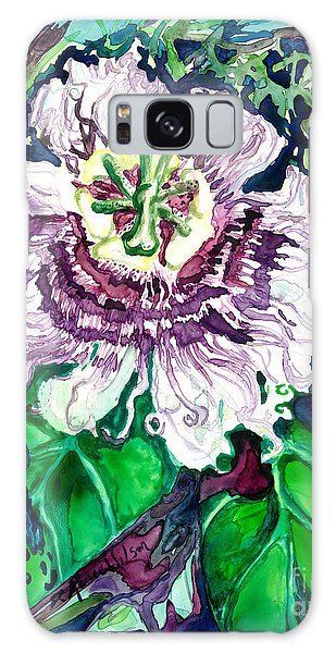Passion Flower Galaxy Case