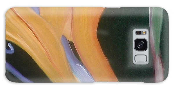 Passion Unfolding 2 Galaxy Case by Lori Jacobus-Crawford
