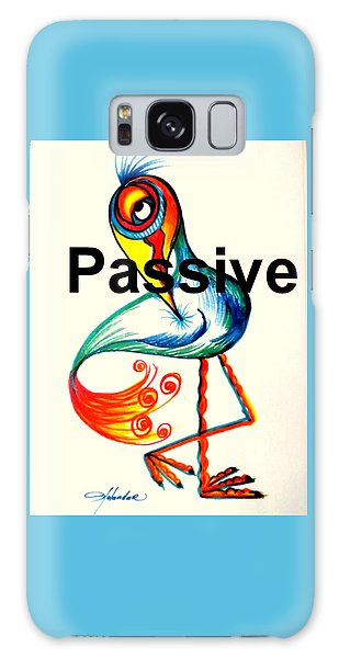 Passive Taino Bird Galaxy Case