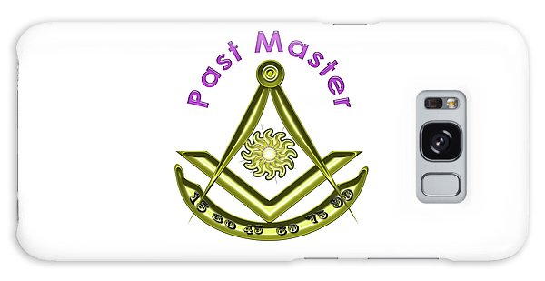 Past Master In White Galaxy Case