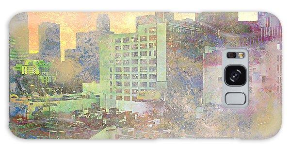 Pastel City Textures Galaxy Case