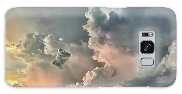 Pastel Clouds Galaxy Case