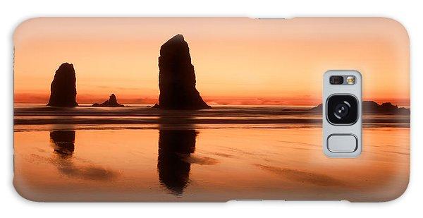 Pastel Evening On The Oregon Coast Galaxy Case